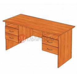 Стол письменный двухтумбовый Мaxi22
