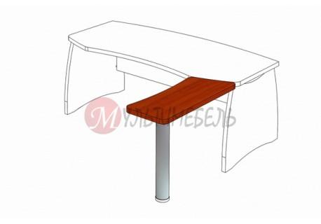 Стол приставной М-312 950х390х750мм