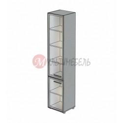 Шкаф со стеклянными дверями М-811 450х420х2166мм
