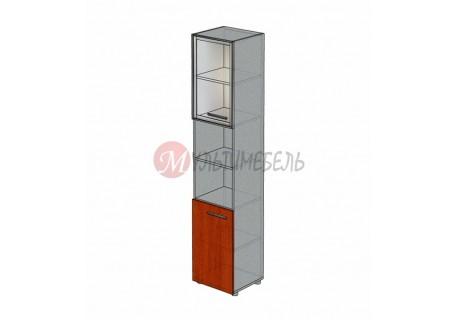 Шкаф со стеклом полузакрытый М-817 450х420х2166мм