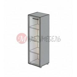 Шкаф со стеклянной дверью М-812 450х420х1451мм