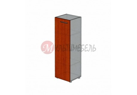 Шкаф для документов узкий М-712 450х420х1451мм