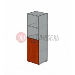 Шкаф полузакрытый узкий М-215 450х420х1451мм
