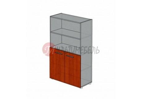 Шкаф полузакрытый низкий М-205 900х420х1451мм