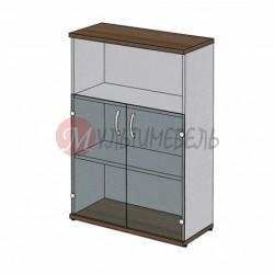 Шкаф для документов MM3-025 со стеклянными дверями