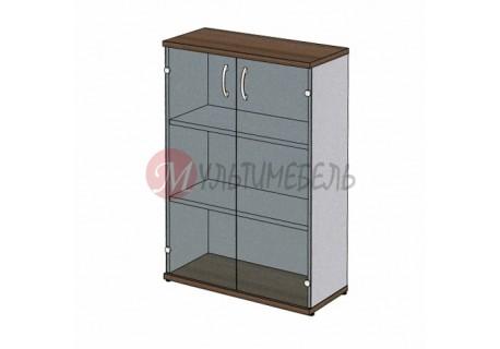 Шкаф для документов MM3-024 сплошные двери из стекла