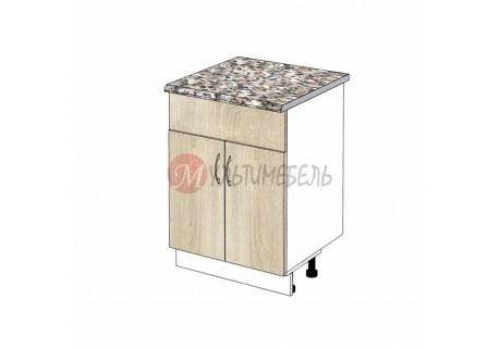 Шкаф кухонный напольный под врезную мойку К05/1в 500х600х850