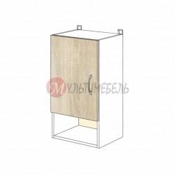 Шкаф кухонный навесной К06 400х320х720 узкий