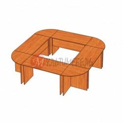 Стол для переговоров 2760х2760х750