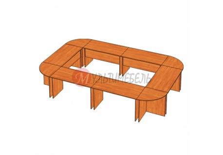 Стол для заседаний 4160х2760х750мм