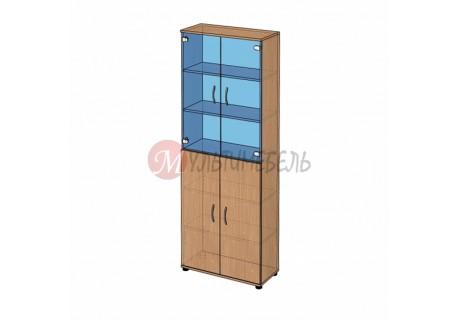 Шкаф высокий витрина B-42.22.22 800х358x2176мм