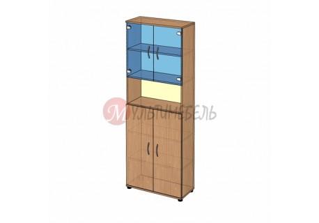 Шкаф витрина высокий B-42.22.21 800х358x2176мм