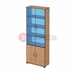 Шкаф витрина высокий B-42.22.13 800х358x2176+мм