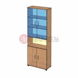 Шкаф витрина высокий B-42.22.12 800х358x2176мм