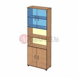 Шкаф витрина высокий B-42.22.11 800х358x2176мм