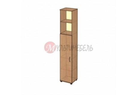 Шкаф открытый узкий B-43.22.3 400х358x2176мм