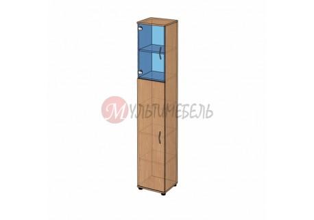 Шкаф витрина узкий B-43.22.31 400х358x2176мм