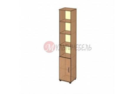 Шкаф открытый узкий B-43.22.1 400х358x2176мм