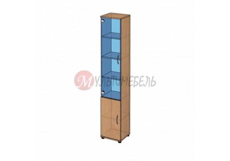 Шкаф витрина узкий B-43.22.13 400х358x2176мм