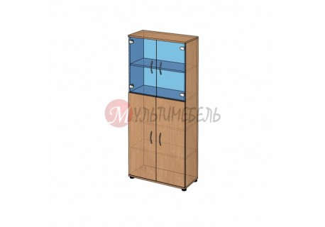 Шкаф витрина широкий B-42.21 800х358x1824мм