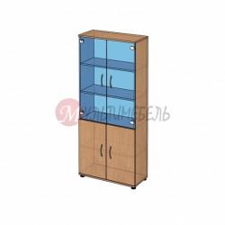 Шкаф витрина широкий B-42.12 800х358x1824мм