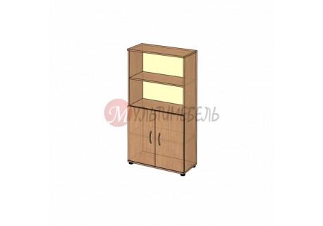 Офисный шкаф для бумаг B-62.1 800х358x1472мм