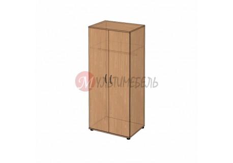 Шкаф для одежды двухстворчатый B-44 800х580x1824мм