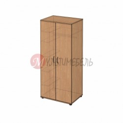 Шкаф гардеробный для одежды B-48 800х580x1824мм