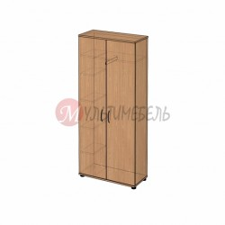 Шкаф с полками для одежды B-41 800х358x1824мм