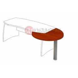 Стол приставной М-301 1100х975х750мм