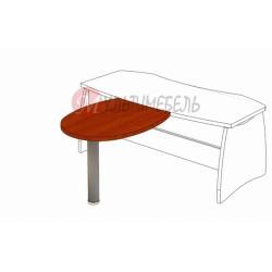 Стол приставной М-304 1000х820х750мм