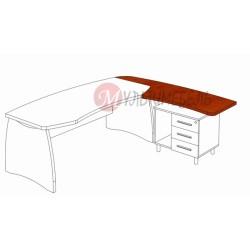 Стол приставной М-307 1862х640х750мм