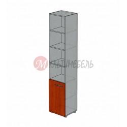Шкаф полуоткрытый узкий М-214 450х420х2166мм