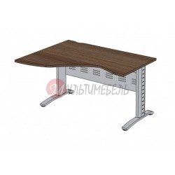 Стол угловой на металлокаркасе MH-1400L/R