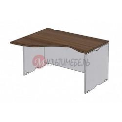Угловой офисный стол  MG-1400х1100х750 ЛЕВЫЙ