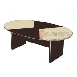 Купить стол для переговоров овальный на 6-8 человек