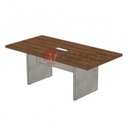 Купить стол для переговоров на 6 человек в брутальном стиле