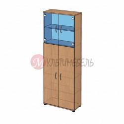 Шкаф витрина высокий B-42.22.31 800х358x2176мм