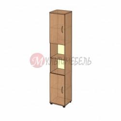 Шкаф комбинированный для документов узкий B-43.22.92