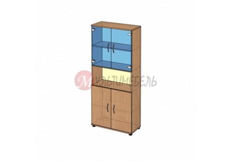 Шкаф витрина широкий B-42.11 800х358x1824мм